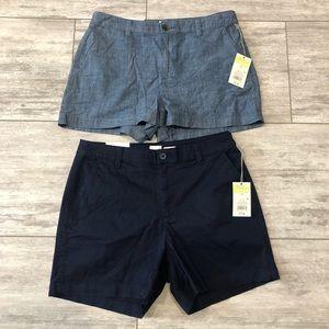 2 Pair is NWT shorts 2/10/2